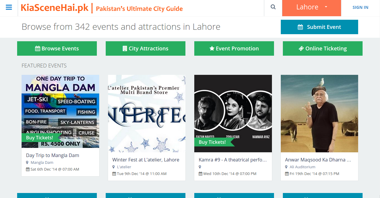 Kia Scene Hai Events Happening Website