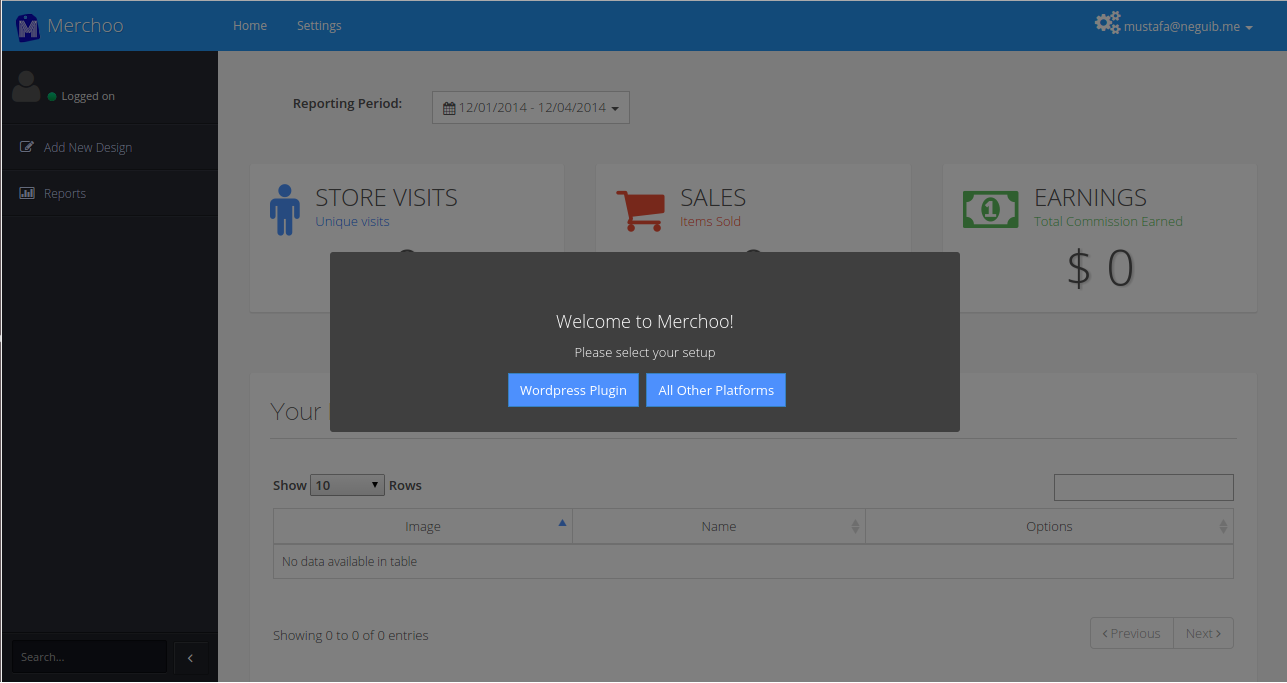 Merchoo Shopping Store Plugin