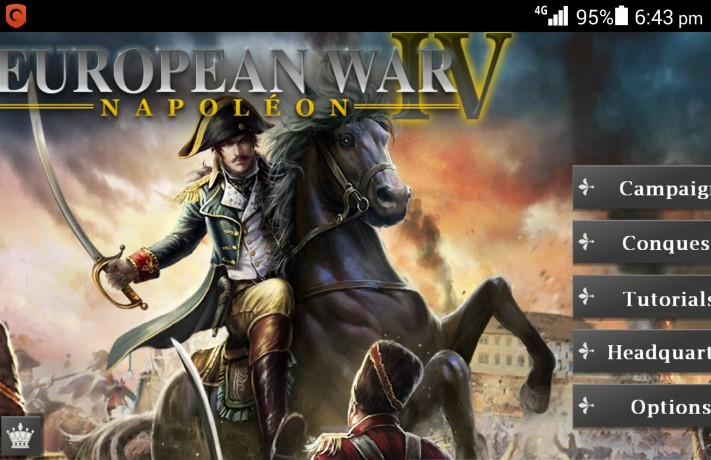 European War 4: Napoleon Strategy Game Review