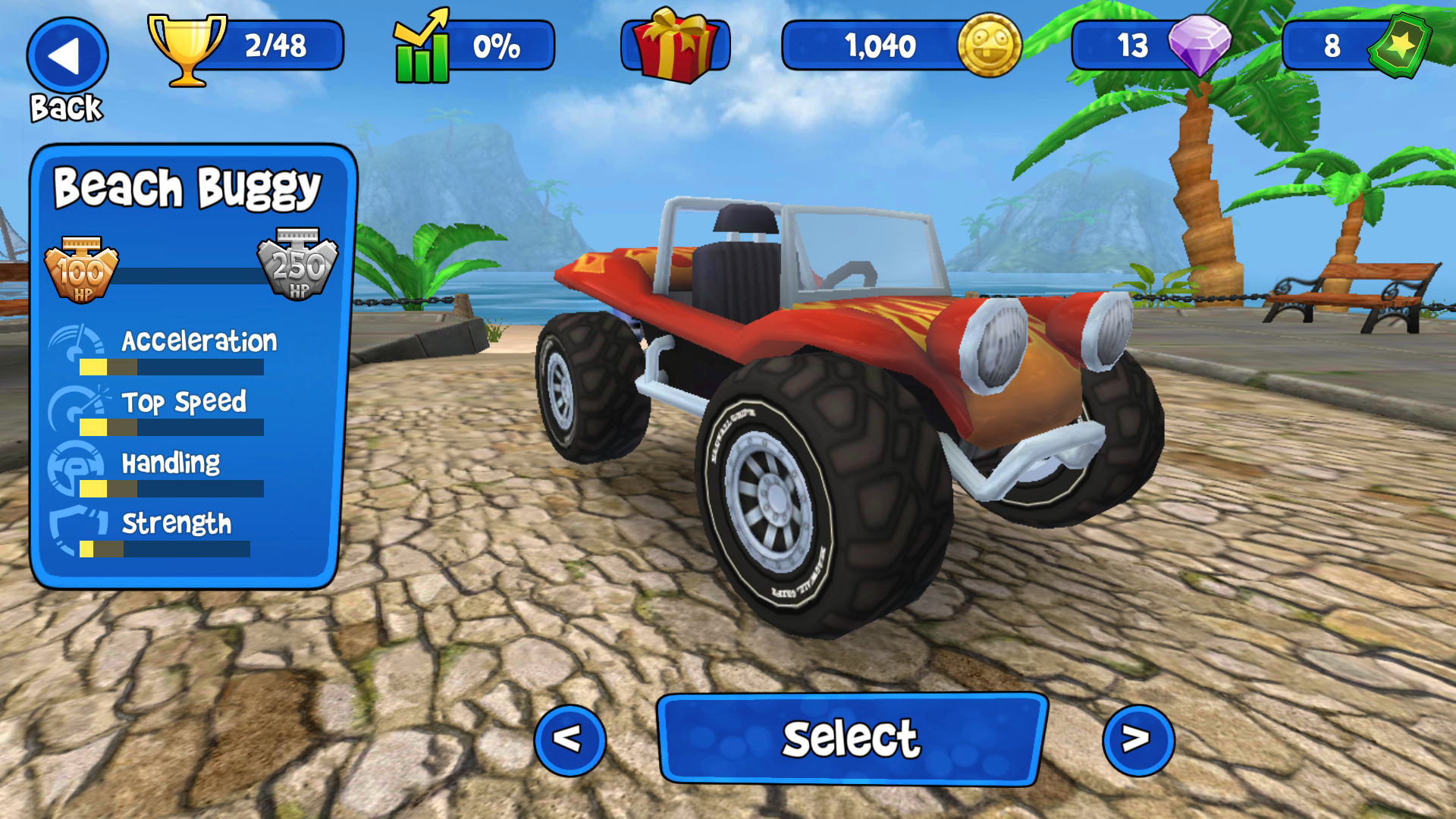 Dune Buggy Car Game Free Online